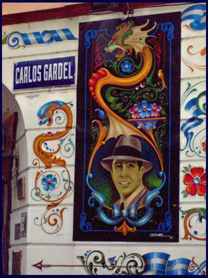 Fileteado Gardel